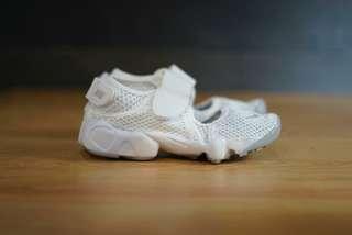 Nike original air rift breeze all white