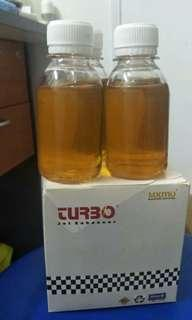 Engine oil turbo for car