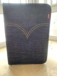 名牌 Levi's 牛仔布 notebook 寄事簿