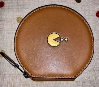 🚚 COACH Limited Edition X PacMan Leather Coin Case