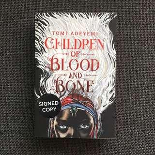 Signed Copy Brand New Children of Blood and Bone by Tomi Adeyemi