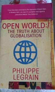 🚚 Open World: The Truth About Globalization by Philippe Legrain