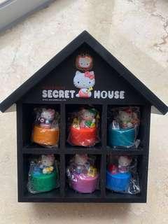 Hello Kitty 擺設 -港鐵 Secret House 地鉄站印章 gift