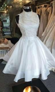 White Dress elegance