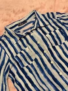 REDGIRL Brand New stripe blouse XL