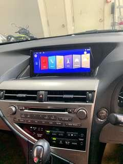🚚 Lexus RX270/350/450H 2009-2011 Android system