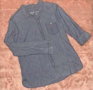 GAP denim blouse XL