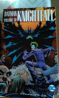 🚚 Batman Prelude to Knightfall