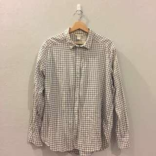 [INC POSTAGE] H&M Checkered Shirt