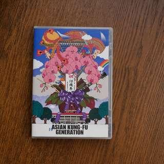 Asian Kung-Fu Generation - Eizo Sakushin Shu Vol.10 Debut 10 Shunen Kinen Live 2013.9.15 (DVD)