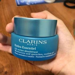 🚚 克蘭詩 Clarins Hydra-Essential Cooling Gel 涼感保濕凝凍