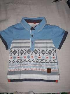 Poney polo shirt 12-18