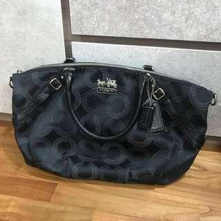 Coach Madison Dotted Sophia Satchel Shoulder Bag