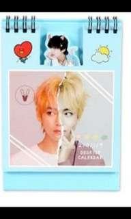 Limited edition V BTS 2019 calendar