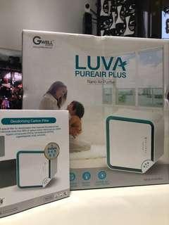 LuvA-Pureair Plus 超離子空氣清新機 (白色)