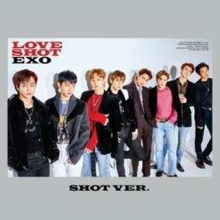 EXO Love Shot (Shot ver.) Poster