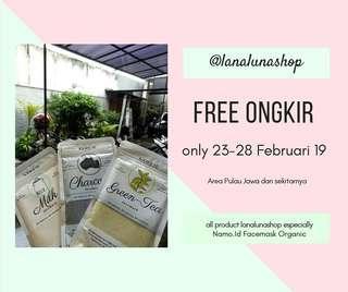 Free Ongkir! No Shopee ya, karna kita gamau ribet lgsg aja cus @lanalunashop