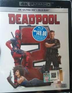 Deadpool 2 4K UHD + Blu-ray