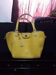 Soft Yellow Tote