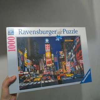 [全新平放] TIMES SQUARE, NYC 1000美國時代廣場 1000塊拼圖 1000 Pieces Puzzle