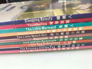 Children books (English and Chinese storybooks)