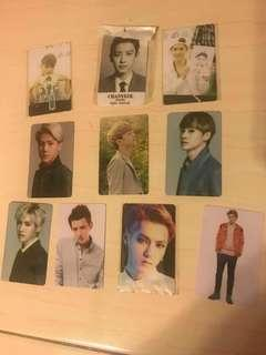 EXO PHOTOCARD / STICKER PHOTOCARD 2in1