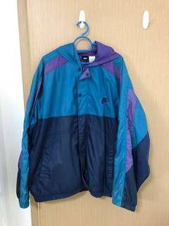 Vintage Nike Windbreaker Rare Colorblock