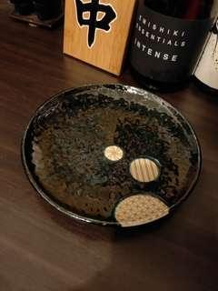 🚚 日式餐盤 陶瓷盤 釉彩 大