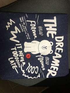Line Friends tee shirt(navy)