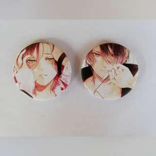 Diabolik Lovers Badges