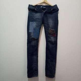 Celana jeans bespoke project non selvedge