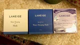 🚚 Laniege Water Sleeping Mask