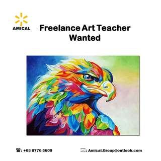 Freelance Art Teacher Wanted