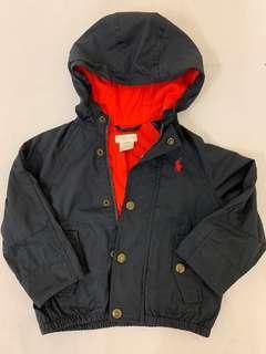 Ralph Lauren Polo blue jacket 90% new 90cm