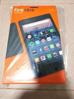 "Fire 8"" new tablet with special offer"