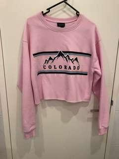 TOPSHOP pinky sweater
