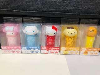 🚚 日本三麗鷗造型按壓式棉花棒罐