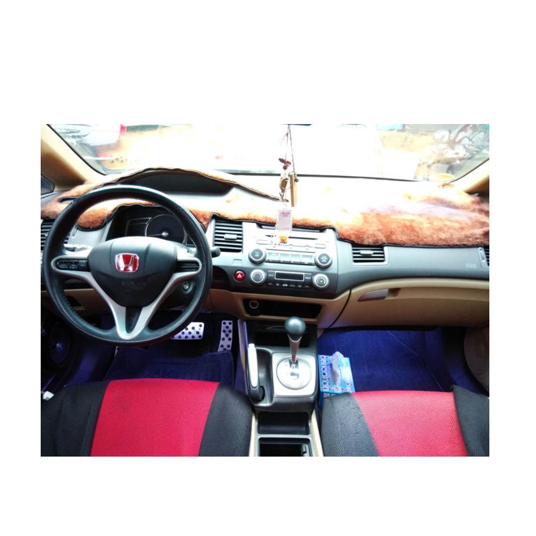 2006 Honda Civic 1.8 藍 FB搜尋 : 『阿文の圓夢車坊』