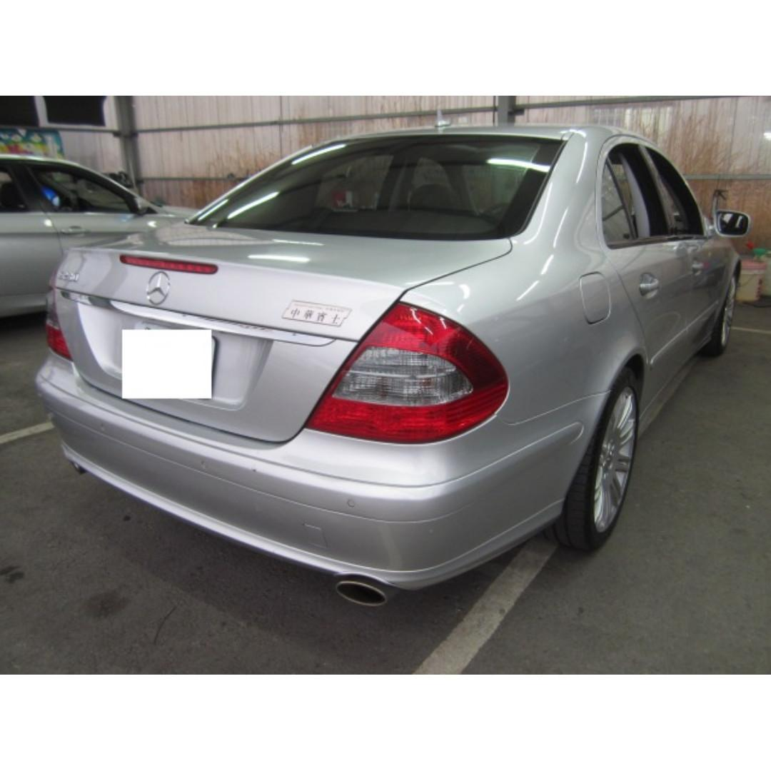 『龐德精選』2007年E280 3.0 //好車出清價19年大優待,在庫超多台選擇//好車不等人即刻聯繫//