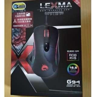 LEXMA G94 有線 RGB 滑鼠