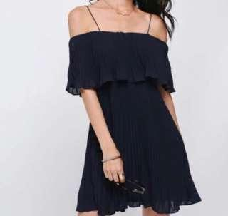 🚚 BNWT Darosia Pleated Dress Love Bonito LB