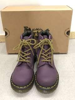 🚚 Dr.Martens紫色高筒馬丁