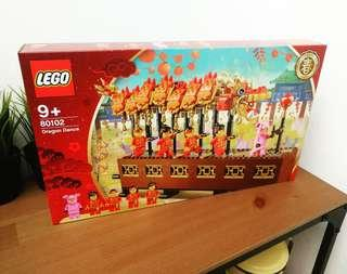 Lego 80102 limited edition Dragon Dance