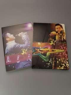 譚詠麟 歌者戀歌 濃情30年 2005 演唱會卡拉ok 3 DVD