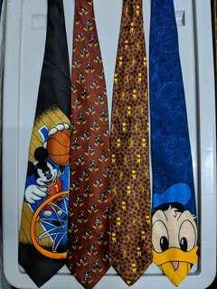 Mickey Unlimited NOS ties