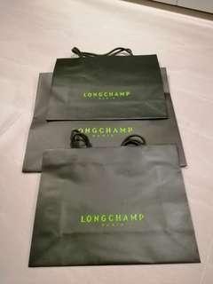 🚚 Longchamp paper bags