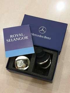 Mercedes-Benz Royal Selangor bottle stopper