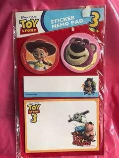 Toystory memo