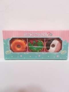 🚚 蜜糖甜甜圈護唇膏x3