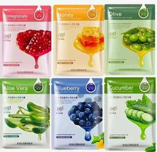 **FOR SALE ROREC NATURAL SKIN CARE KOREAN MASK FOR ONLY 19.75 PER PACK!!**